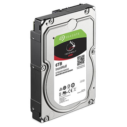 Seagate 希捷 IronWolf 那嘶狼 6TB 3.5吋 NAS 專用硬碟 ST6000VN0033