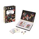 【法國Janod】磁鐵遊戲書-幾何創意拼 J02720 /組