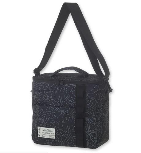 [好也戶外]KAVU Snack Sack 時尚保冷袋8.5L 等高線 NO.90554437