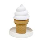 【日本正版】冰淇淋 陶瓷加濕器 不須插電 氣化式加濕器 不插電加濕器 造型加濕器 - 058403