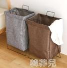 洗衣籃 一森日式臟衣籃臟衣服收納筐布藝簍簡約折疊洗衣籃防水衣物整理桶 韓菲兒