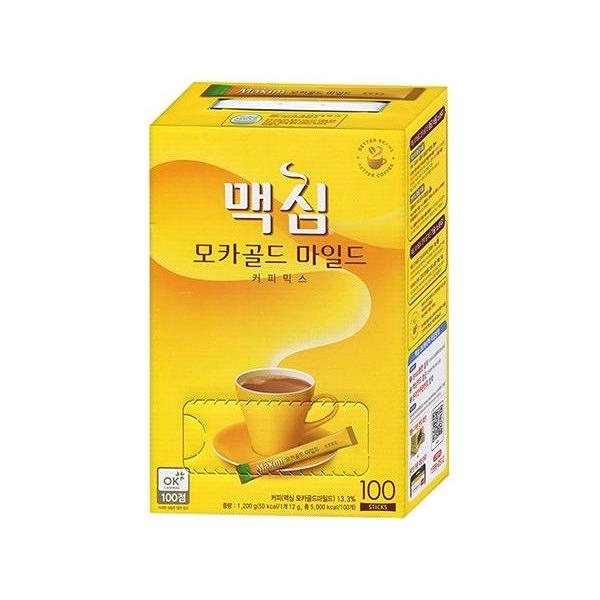 韓國 Maxim 摩卡三合一咖啡隨身包(12g×100入/盒)【小三美日】