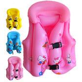 救生衣兒童浮力背心馬甲男童女童專業小孩寶寶充氣學游泳裝備3歲6   糖糖日系森女屋