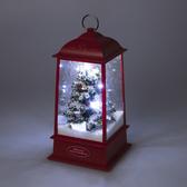 噴雪聖誕音樂燈-紅