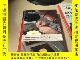 二手書博民逛書店Quality罕見Control in Fact-Finding