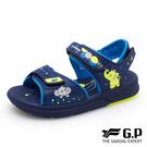 G.P 兒童大象綿綿鞋(G0707B-20) 中童鞋 藍色 NO.R5431