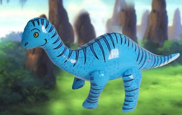 [協貿國際]  充氣大恐龍幼兒園兒童玩具 (1入)