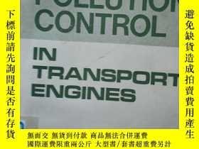 二手書博民逛書店AIR罕見POLLUTION CONTROL IN TRANSPORT ENGINESY16555 AIR P