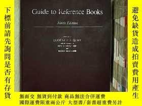 二手書博民逛書店Guide罕見to reference books ninth
