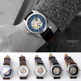 范倫鐵諾˙古柏 玫金夜光指針機械錶【NEV36】單支