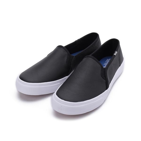 KEDS 皮革套式休閒鞋 黑 9191W132630 女鞋 平底│懶人