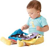 Lamaze拉梅茲嬰幼兒玩具 PANDA的好朋友柔軟故事書_LC27900
