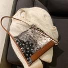 錦官城復古腰果花紋絲綢側背包包女休閒手拎包 黛尼時尚精品