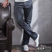 【JEEP】時尚設計工作褲 (鐵灰)