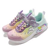 Skechers 燈鞋 S Lights-Unicorn Dreams 獨角獸 彩色 發光鞋 魔鬼氈 童鞋 小朋友【ACS】 302311-LPRMT