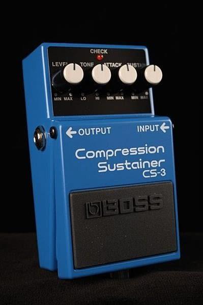 【金聲樂器】BOSS CS-3 Compression Sustainer 壓縮延音效果器