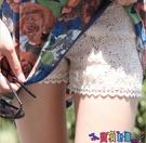 安全褲 夏季薄款三分安全褲黑色蕾絲外穿打底褲女防走光短褲保險褲大碼寶貝計畫 上新