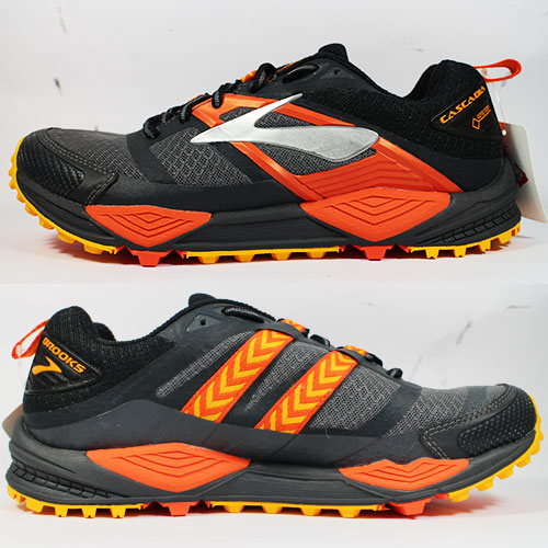 [陽光樂活](AX) BROOKS 男運動鞋 慢跑鞋 CASCADIA 12 GTX - 1102641D047