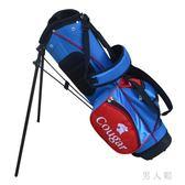 高爾夫兒童球包 小球袋 雙肩背 男童女童 槍包支架包小背包 zm5305『男人範』TW