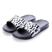 NIKE BENASSI JDI 黑 滿版 拖鞋 男女 (布魯克林) 631261-024