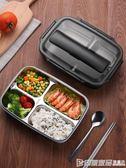 飯盒便當成人小學生帶蓋韓國女減脂健身食堂分格保溫日式簡約餐盒  印象家品旗艦店