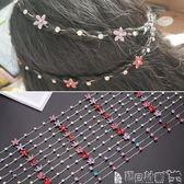 兒童髮飾 兒童編髪鏈女童寶寶合金水鉆盤髪鏈條髪飾小女孩公主鏈頭飾品 寶貝計畫