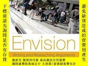 二手書博民逛書店Envision:罕見Writing And Researchi