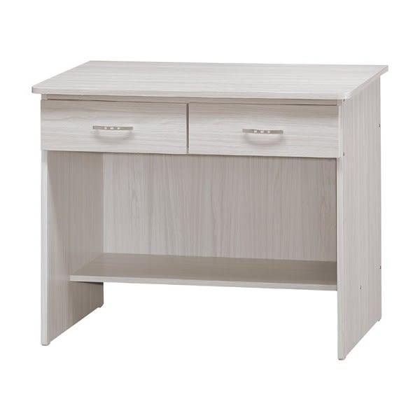 書桌 電腦桌 PK-672-7 香檳松3尺二抽書桌 (不含其它產品)  【大眾家居舘】