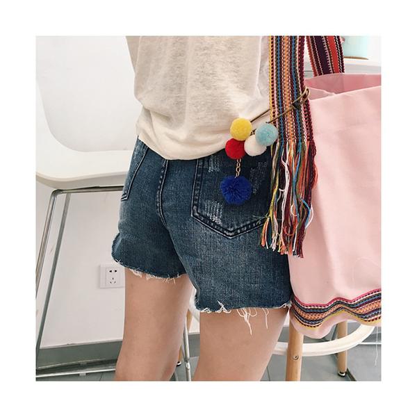帆布袋 手提包 帆布包 手提袋 環保購物袋--斜背/水桶包