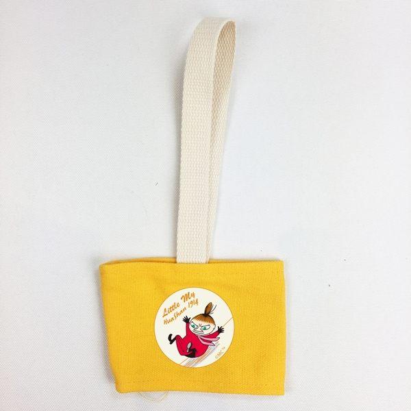 【Moomin】飲料提袋(黃色)