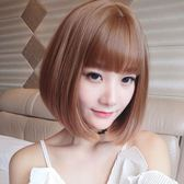 短假髮 假髮女短髮造型空氣劉海bobo頭內彎直髮網紅圓臉發型鎖骨發奶奶灰