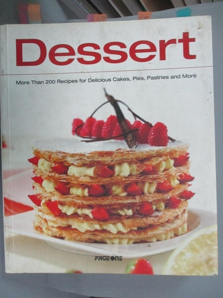 【書寶二手書T1/餐飲_YEB】Dessert_Simone Rugiati, Licia Cagnoni, Alberto Rossi