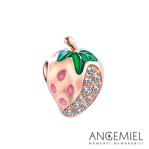 Angemiel安婕米 925純銀珠飾  Dream童話系列 草莓 串珠