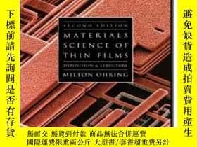 二手書博民逛書店Materials罕見Science Of Thin Films Second Edition-薄膜材料科學第二版