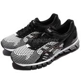 Asics 慢跑鞋 Gel-Quantum 360 Knit 黑 灰 白 亞瑟膠 針織鞋面 女鞋【PUMP306】 T778N9001