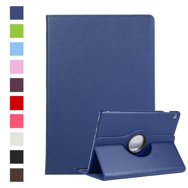 HUAWEI MediaPad T3 T5 8.0 9.6 10 10.1 保護套包覆360度旋轉平板套兩角度支架皮套