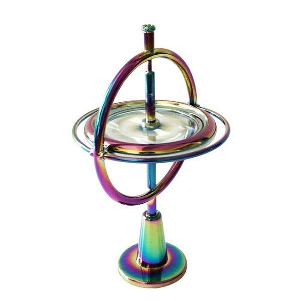 旋轉平衡黑科技反重力金屬陀螺儀