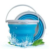 汽車用折疊水桶大號車載便攜式洗車桶多功能戶外釣魚桶伸縮折疊桶 童趣