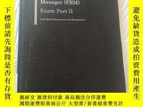 二手書博民逛書店2017罕見Financial Risk Manager ( FRM ) Exam Part ll 信用風險度量與