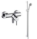【麗室衛浴】德國頂級 HANSGROHE Talis  32640 淋浴龍頭+Crometta 滑桿組 27762