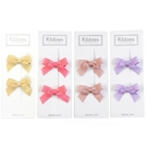 英國 Ribbies 經典蝴蝶結2入組|髮飾|髮夾(4款可選)