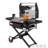 燒烤架家用木炭5人以上燒烤爐戶外便攜摺疊燒烤工具全套   WD