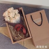 生日禮物送女友浪漫玫瑰花束禮盒diy韓版創意情人節 ZB148『美鞋公社』