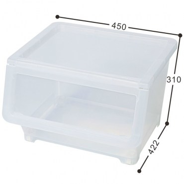 KEYWAY 直取式收納箱 大尺寸款 38L 42.2X45X31公分 LF-607