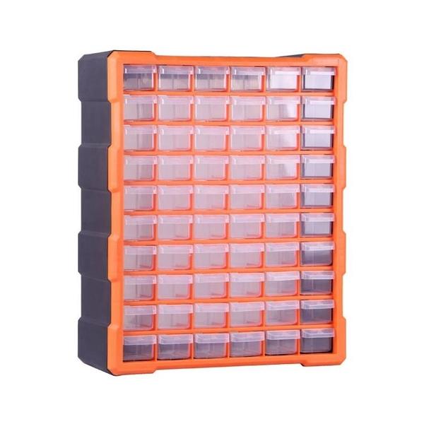 桌面抽屜樂高零件收納盒塑料零件櫃螺絲物料分類整理工具盒置物架ATF 格蘭小鋪