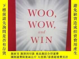 二手書博民逛書店Woo,罕見Wow, and Win: Service Desi