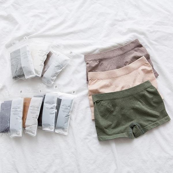 促銷 打底安全褲防走光女士夏季純棉薄款可外穿白色黑色寬松平角內褲