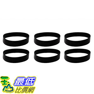 [106美國直購] 6 Drive Belts for Oreck XL Upright Vacuums; Compare to Oreck Part Nos. 030-0604