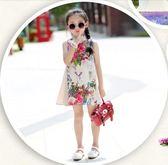 女童旗袍連身裙夏裝唐裝裙