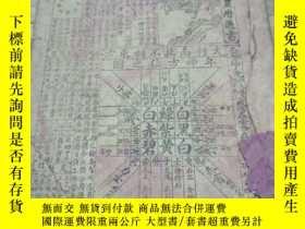 二手書博民逛書店中華民國二十六年農曆通書罕見一冊Y19845